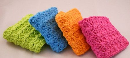 Free crochet kitchen sponge and scrubber patterns