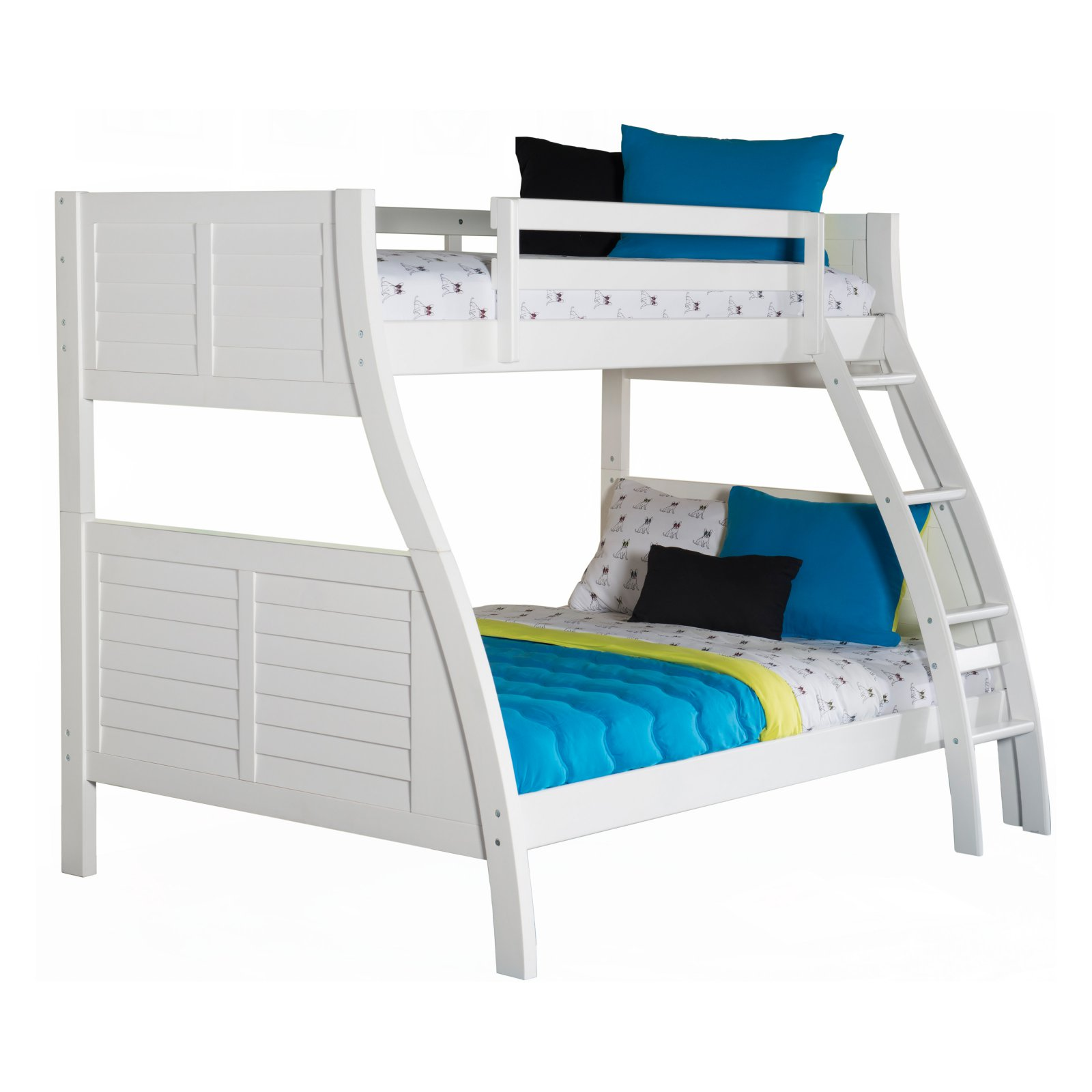 Powell Easton Bunk Bed Wood bunk beds, Bunk beds, Cool