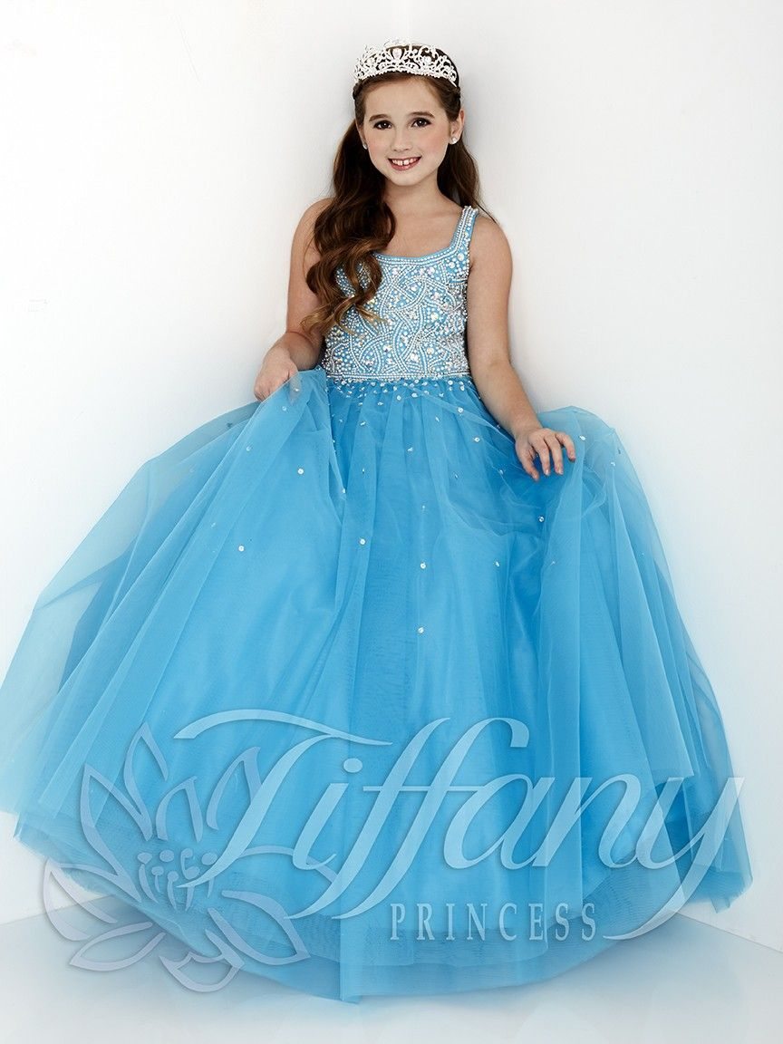 Little Girls Pageant Dress   Tiffany Princess Pageant Gown 13431 ...