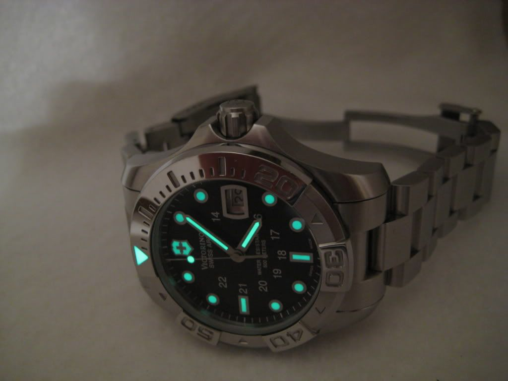 nib watches dive automatic swiss army master attachment victorinox msrp listing divemaster