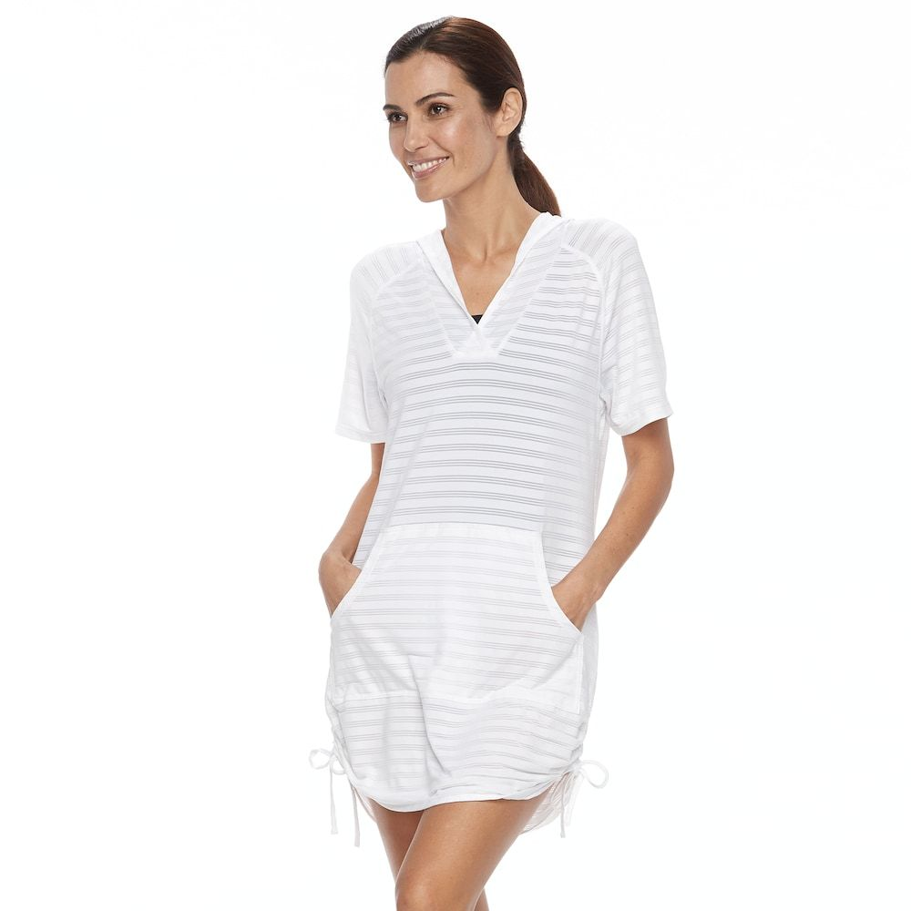 837d7c2fe4ca Free Country Women s Hooded Swim Cover-Up