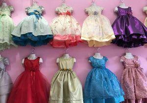 Girls designer dresses 45.00