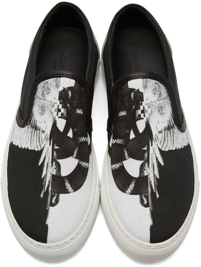 Outlet Get Authentic Sale Visa Payment MARCELO BURLON COUNTY OF MILAN & Snar Wing Slip-On Sneakers Top Quality Online Outlet For Cheap bgKwS7