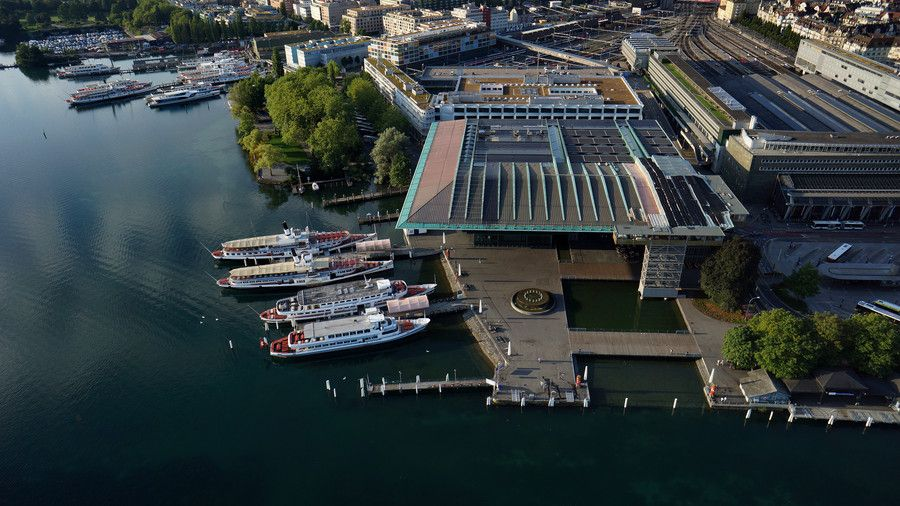 Lucerne KKL from the air by Martin Schumacher on 500px