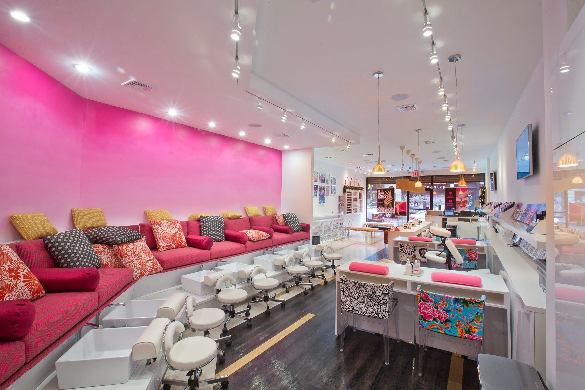 Google+ | Nail salon | Pinterest | Salons, Salon ideas and Salon design