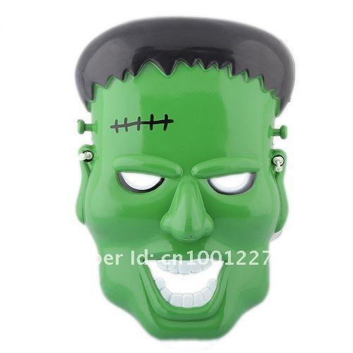 Aliexpress.com : Buy Plastic Green Halloween Costume Mask ...