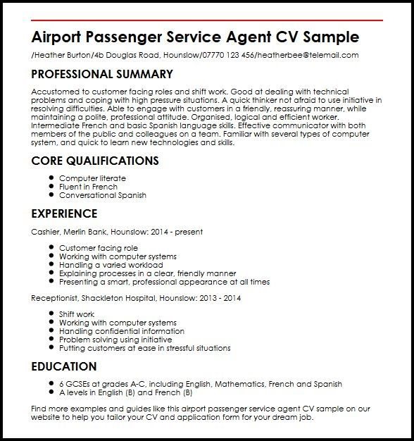 cool customer services cv template pictures