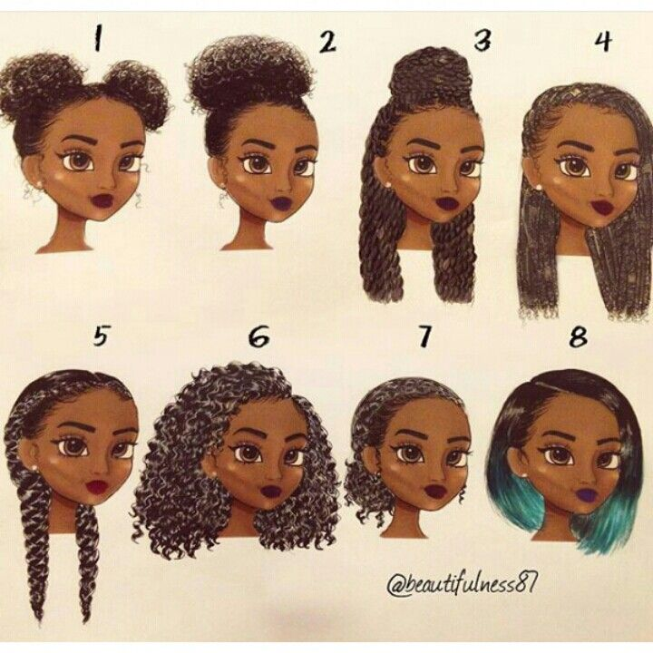 pinterest @badgalronnie •• | Black Hairstyles | Pinterest ...