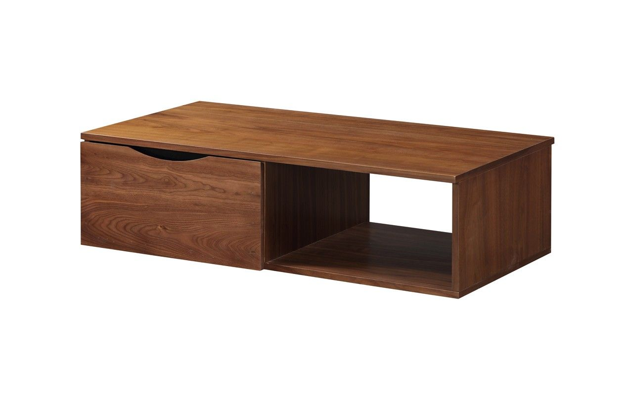 Jual Furnishings JF803 Bella Assembled Coffee Table In Walnut Delivery    This Quality Piece Of Furniture Is Delivered To You Fully Assembled On A  Premium ...