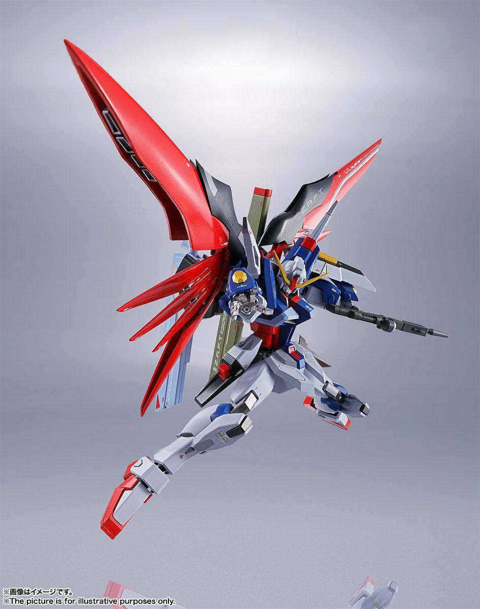BANDAI Metal Robot Spirits SIDE MS Destiny Gundam Mobile Suit Gundam SEED JAPAN