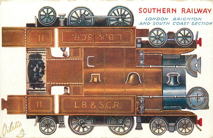 SOUTHERN RAILWAY (LONDON BRIGHTON AND SOUTH COAST SECTION