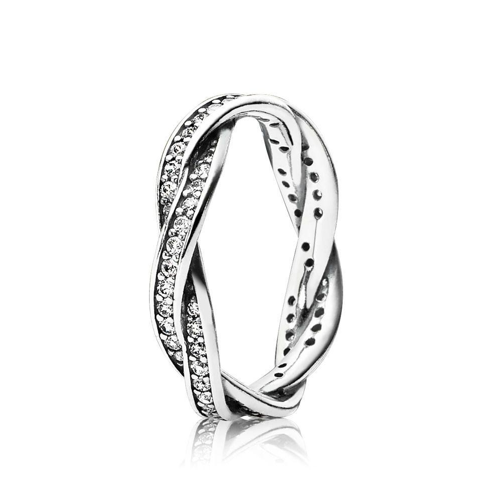 anello infinito argento pandora