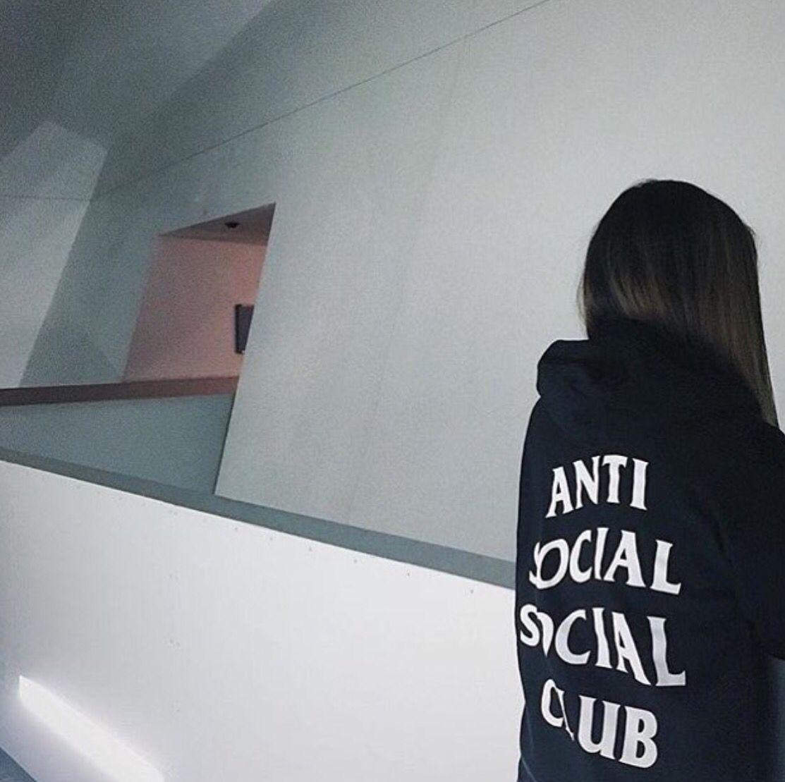 Anti Social Social Club Hoodie  Clothes  Bags  Anti -2049