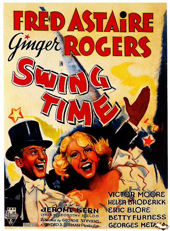 Swing Time 1935. film movie cinema posters Fred