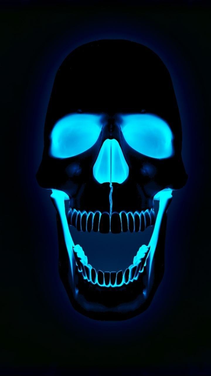 Download Skull Blue Wallpaper by ThiagoJappz 7e Free