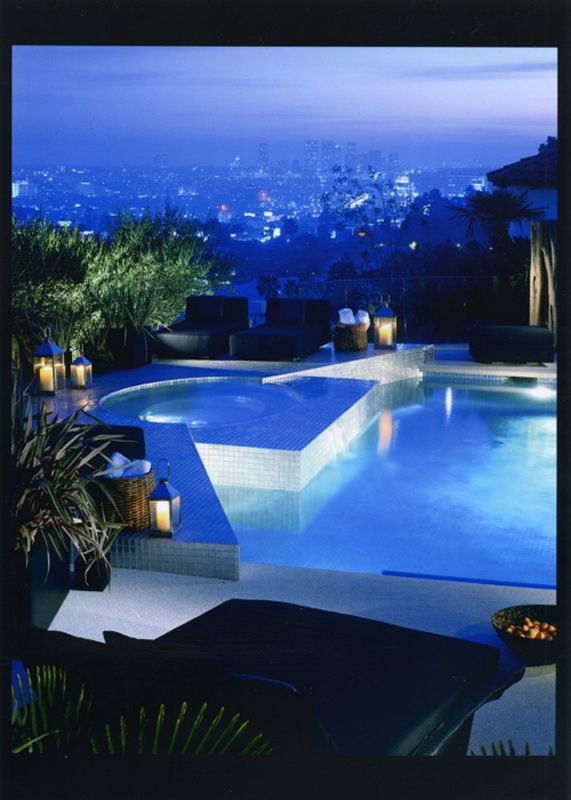 Openhouse Xten Architecture Luxury Swimming Pools Hollywood Mansion Modern Pools