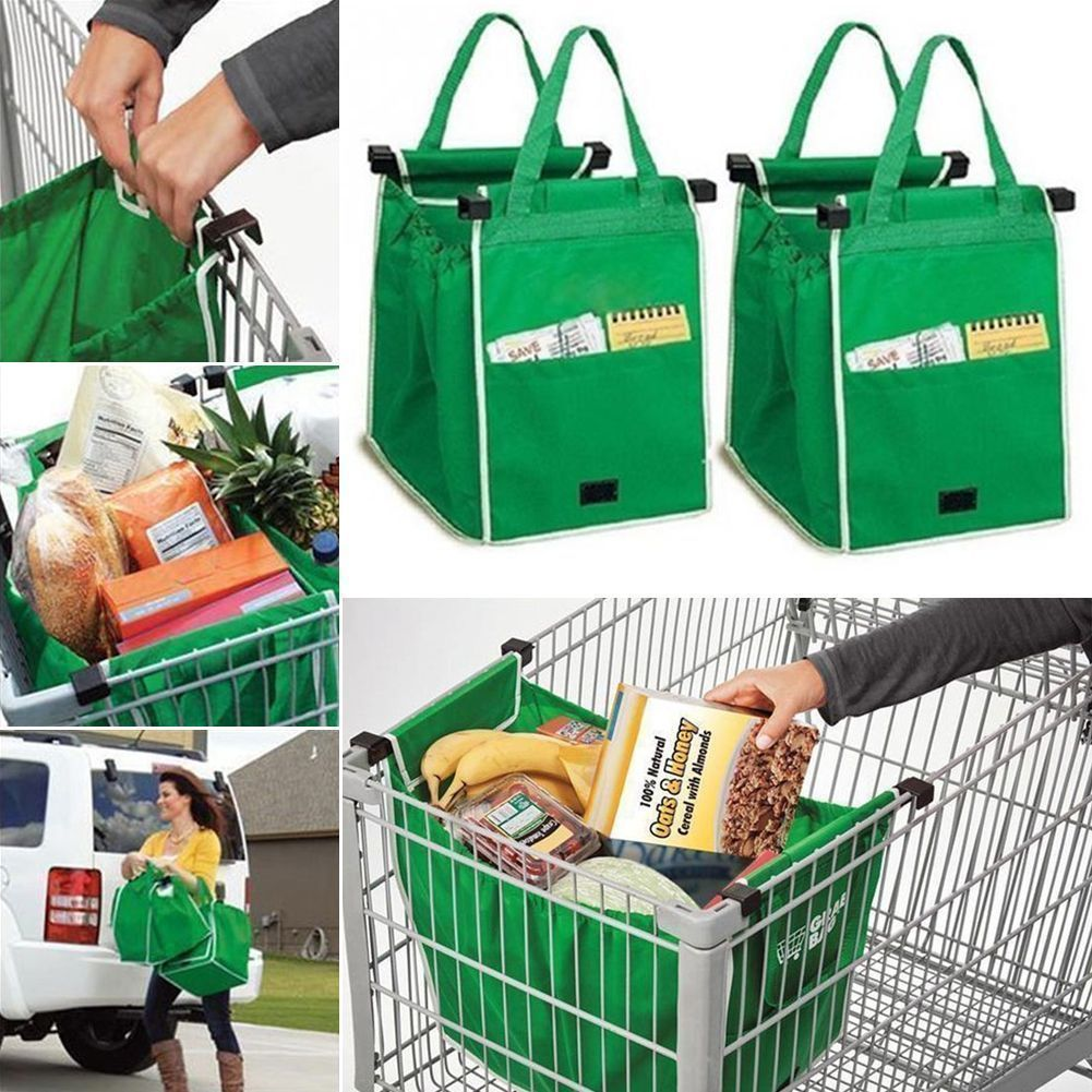 Shopping Trolley Bag On Wheels Australia Details About Reusable Shopping Bags Eco Foldable Trolley Tote