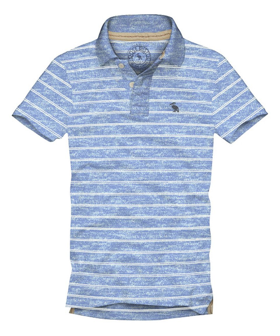 Look what I found on #zulily! Rose Pistol Kids Heather Periwinkle Williams Stripe Polo - Boys by Rose Pistol Kids #zulilyfinds