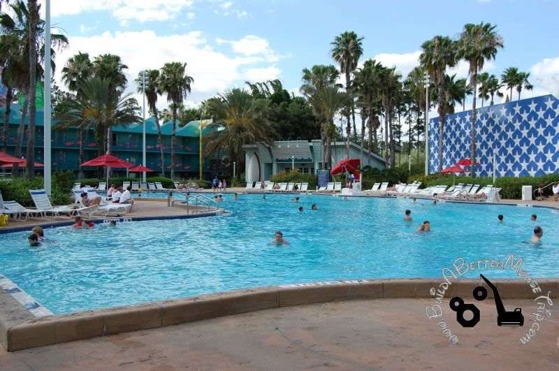 Swimming Pool at Disney's AllStar Sports Resort a value