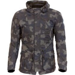 Photo of Merlin Belmot Camo Motorrad Wachsjacke Blau M Merlin