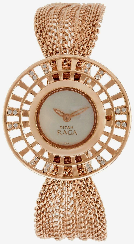 Titan Raga Analog Green Dial Women S Watch Ne9931wm01j Price 8 200 00 Free Delivery Eligible For Cash Gold Watches Women Womens Watches Fashion Watches