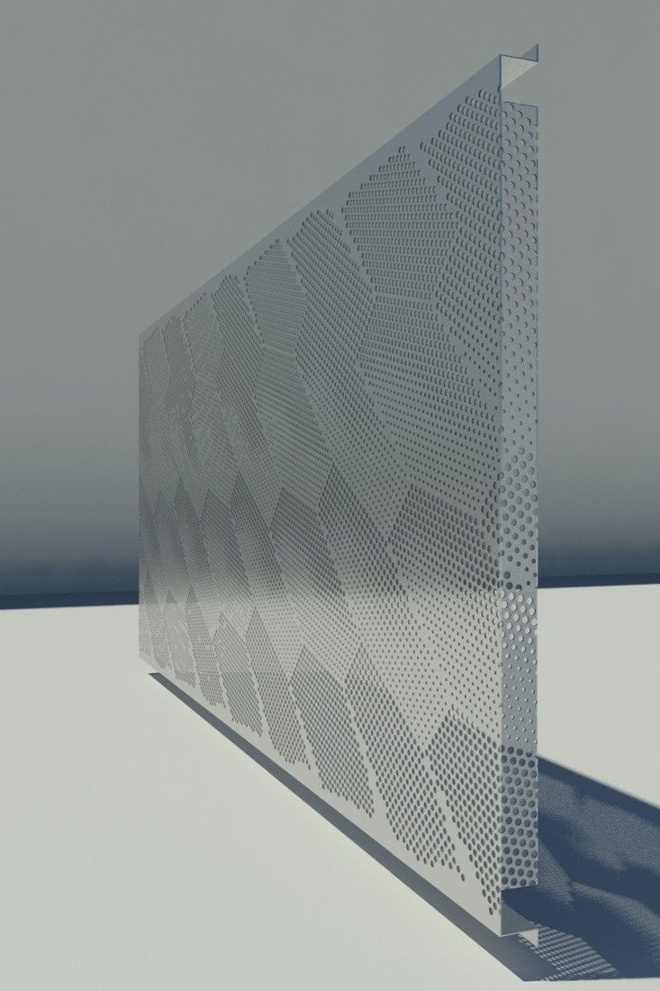 In Progress Marc Jacobs Tokyo By Stephan Jaklitsch Architects Metal Facade Cmf Design Perforated Metal