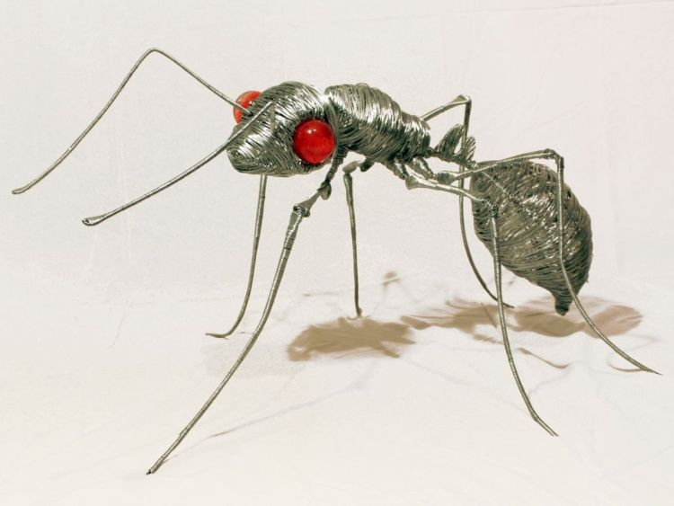 Ant (2010) One of a kind sculpture by Juan Isasa   Artfinder