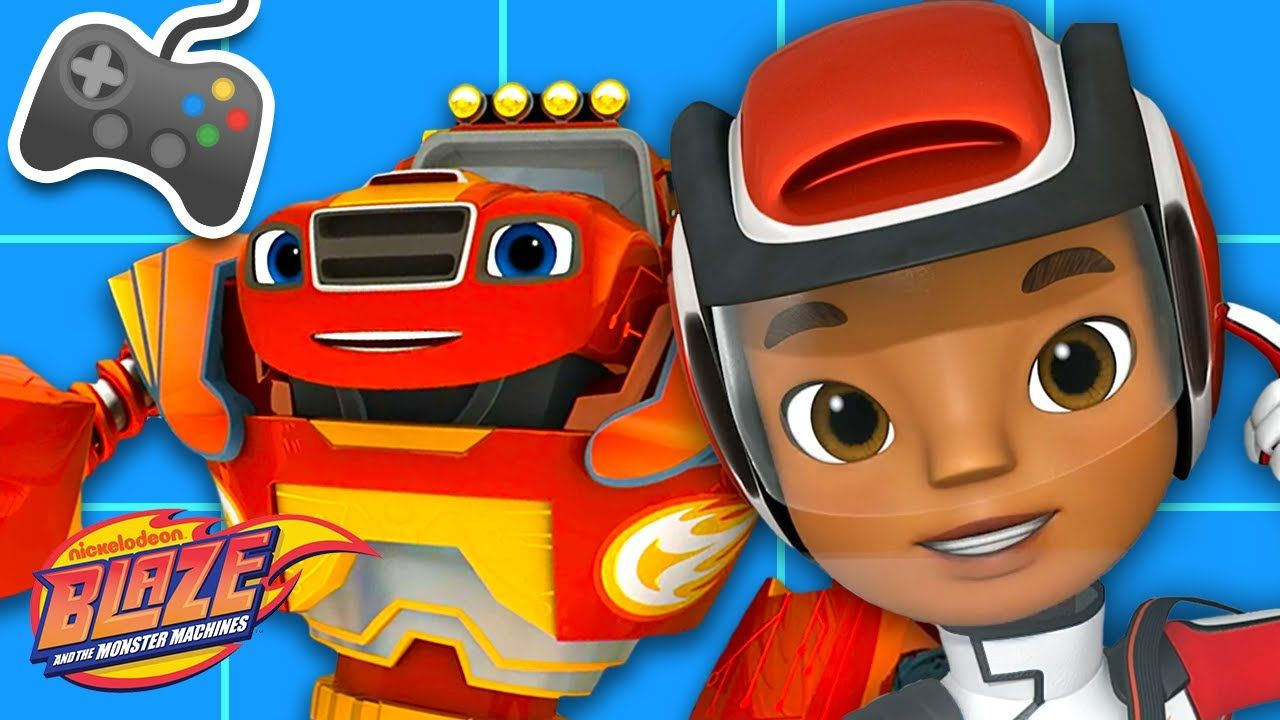 Pin On Blaze And The Monster Machines
