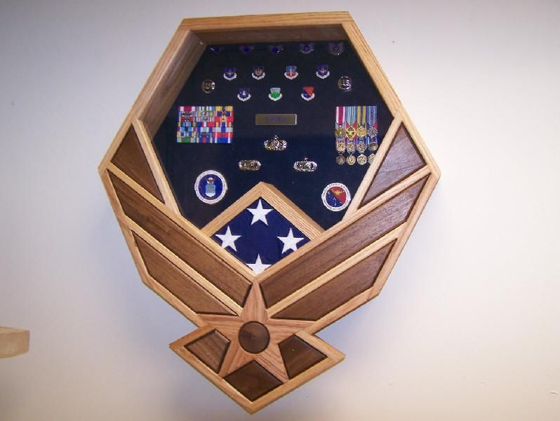 Air Force Symbol Shadow Box All Things Military