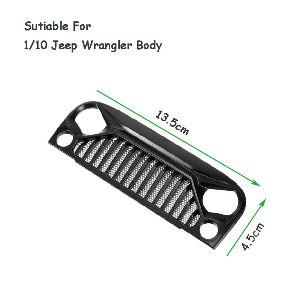 Air Inlet Grille Front Face For 1/10 RC Rock Crawler Axial SCX10 ...