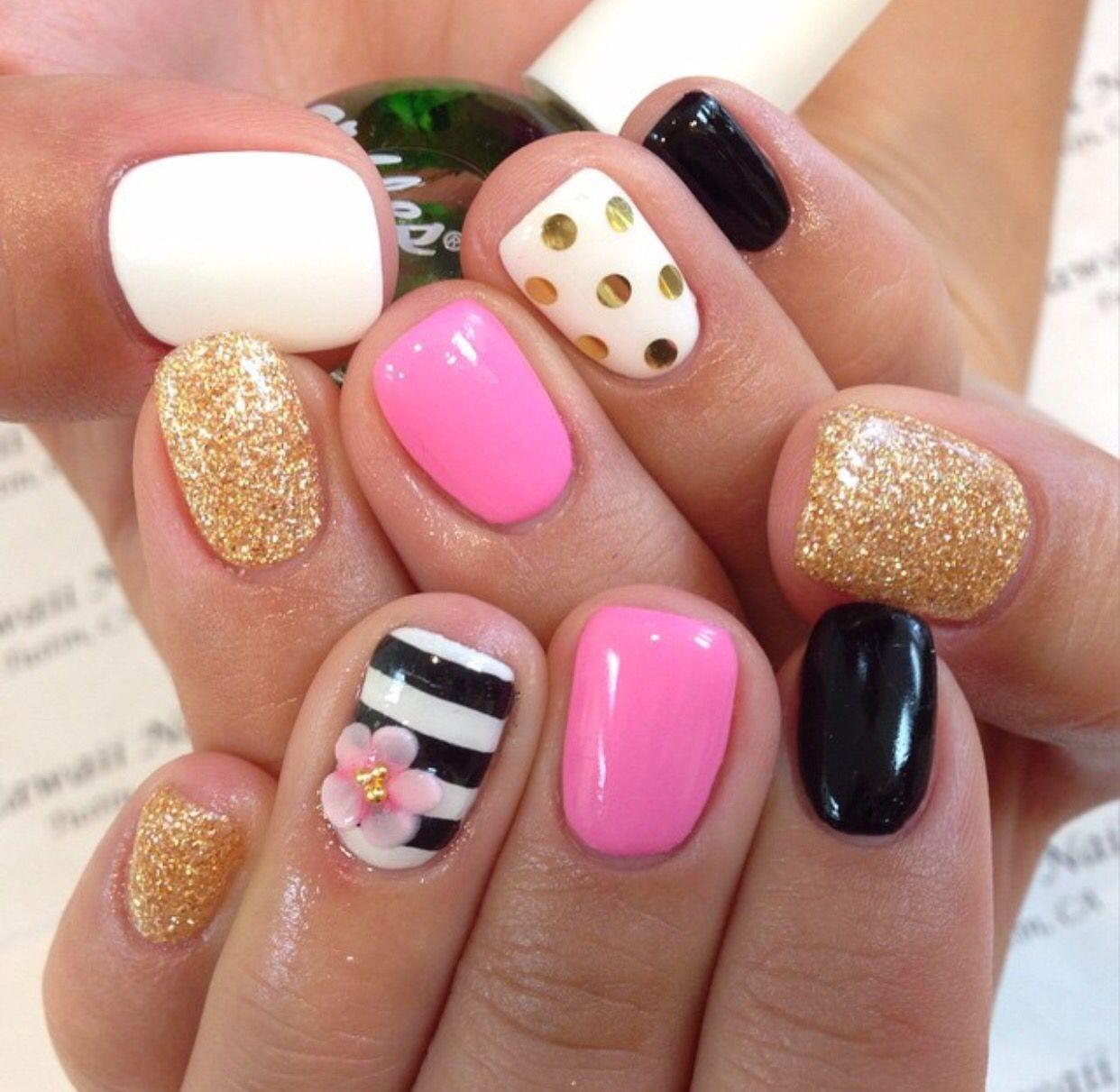Pin de Enaizsa Deravin en Nails did | Pinterest | Diseños de uñas ...
