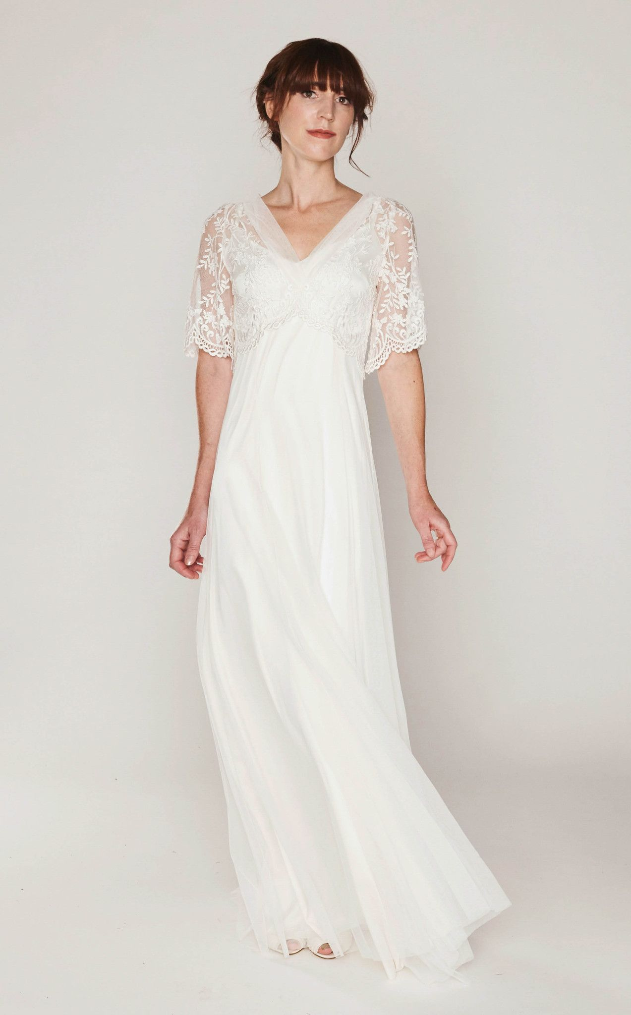 Iris modest wedding dress | Modest Wedding Dresses | Pinterest ...