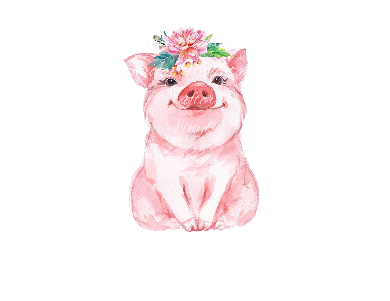 Картинки свинка рисунок