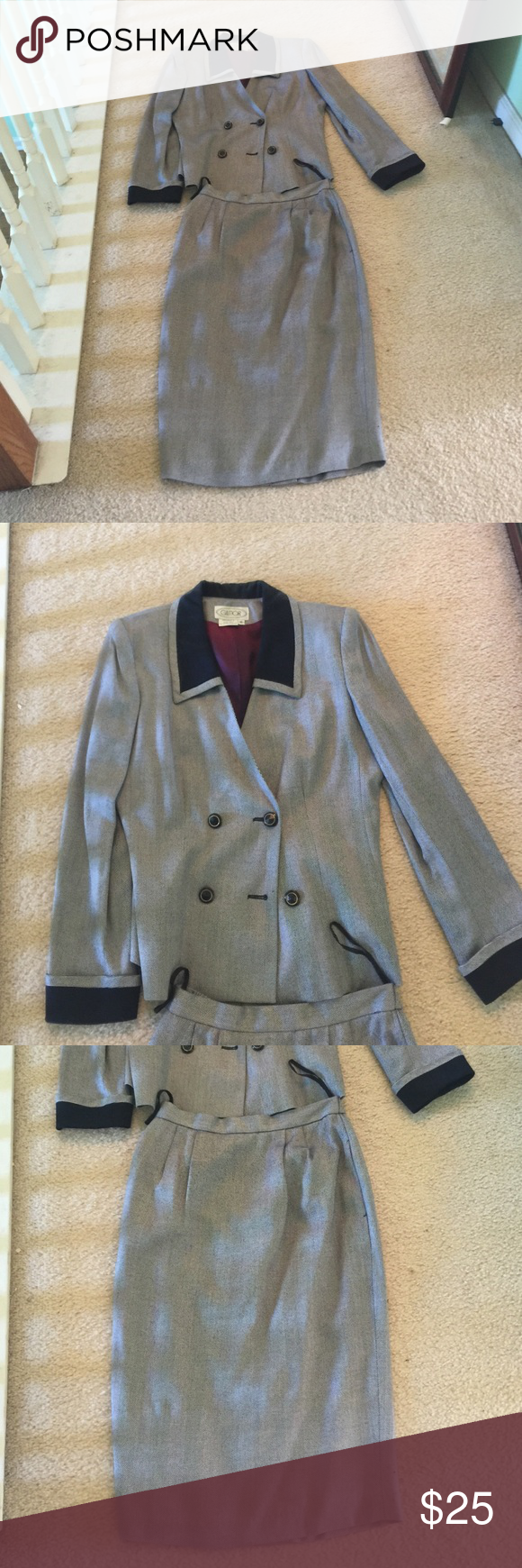 Jacket & skirt size 8⬇️⬇️⬇️ Bundle up and save Gilmor Jackets & Coats Blazers