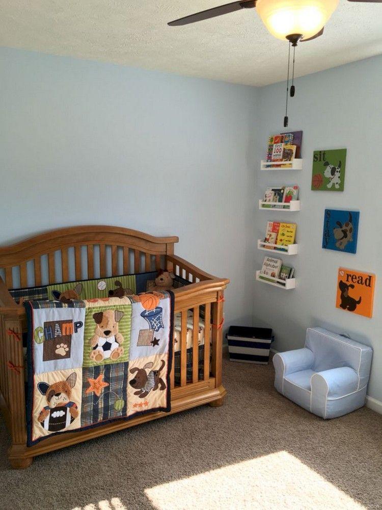 Cool Baby Boy Nursery Ideas: Cool Baby Boy Nursery Rooms With Sport Decor 45