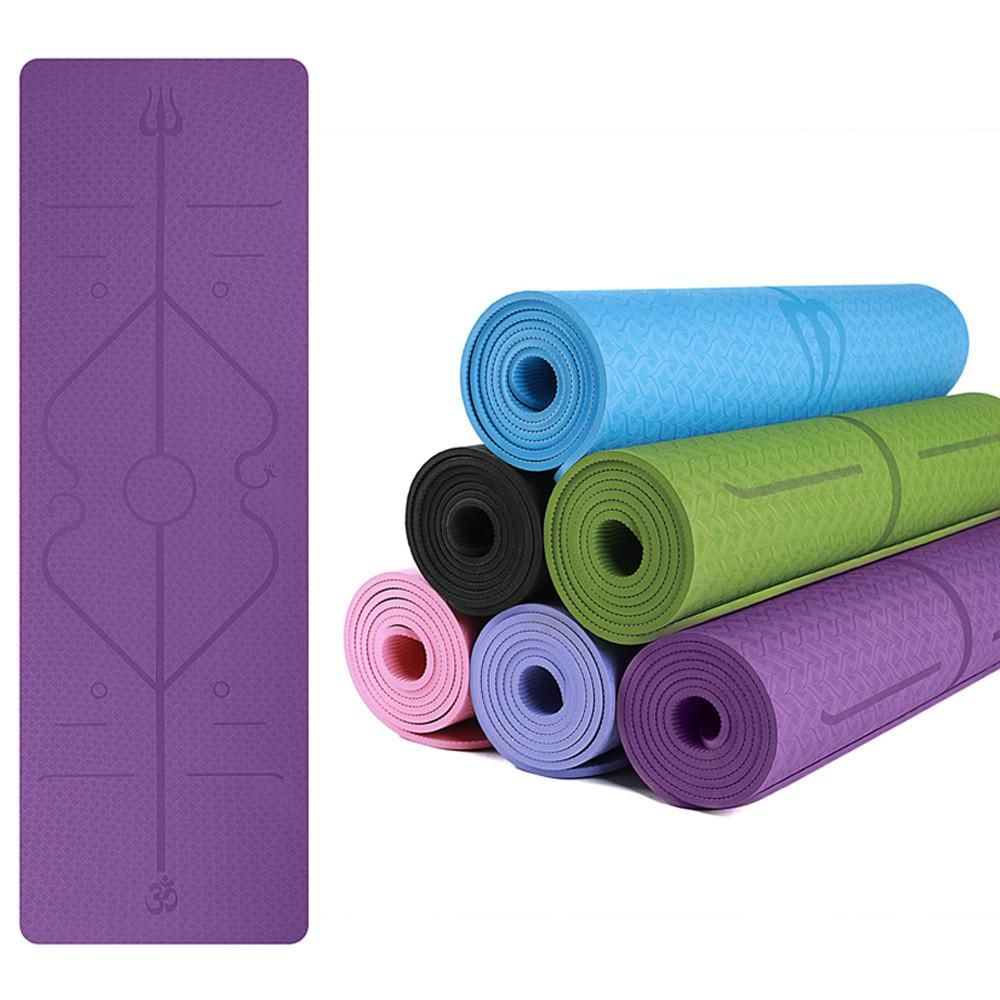 The Tpe Flourit Yoga Mat Is A Superior Travel Yoga Mat That Provides Excellent Grip Wherever Your Practice Takes Y Yoga Mats Best Travel Yoga Mat Yoga Fitness