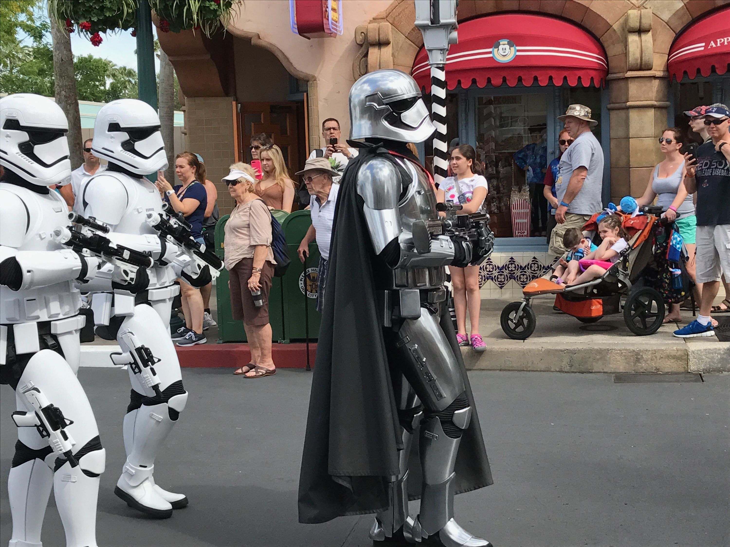Captain phasma at first order march