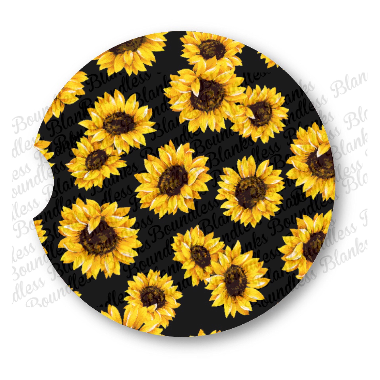 Mana Trading Handmade Steering Wheel Cover Sunflowers Floral