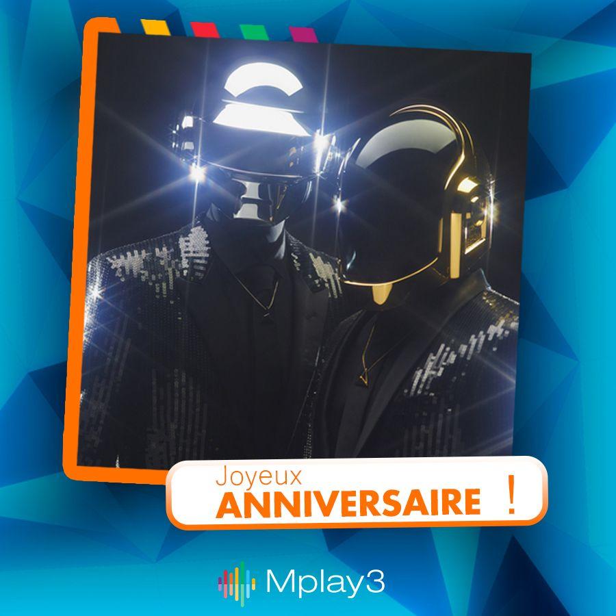 Joyeux Anniversaire A Thomas Bangalter Un Des Deux Daft Punk Mais