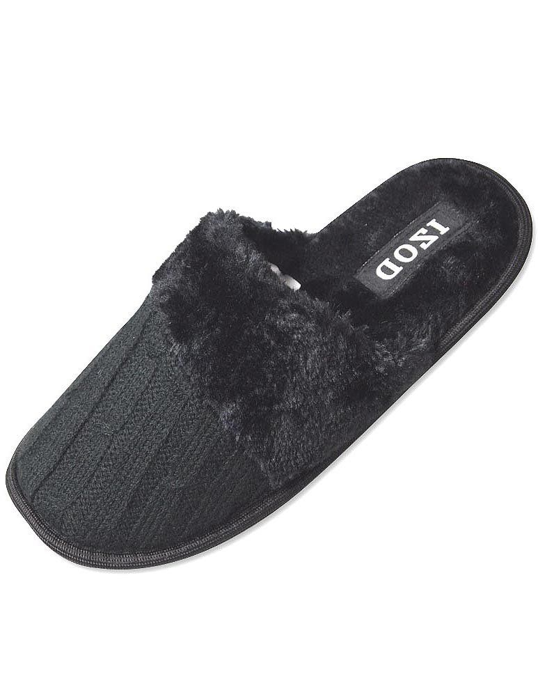 64c1045b56fc Amazon.com  Izod - Ladies Scuff Slipper  Clothing