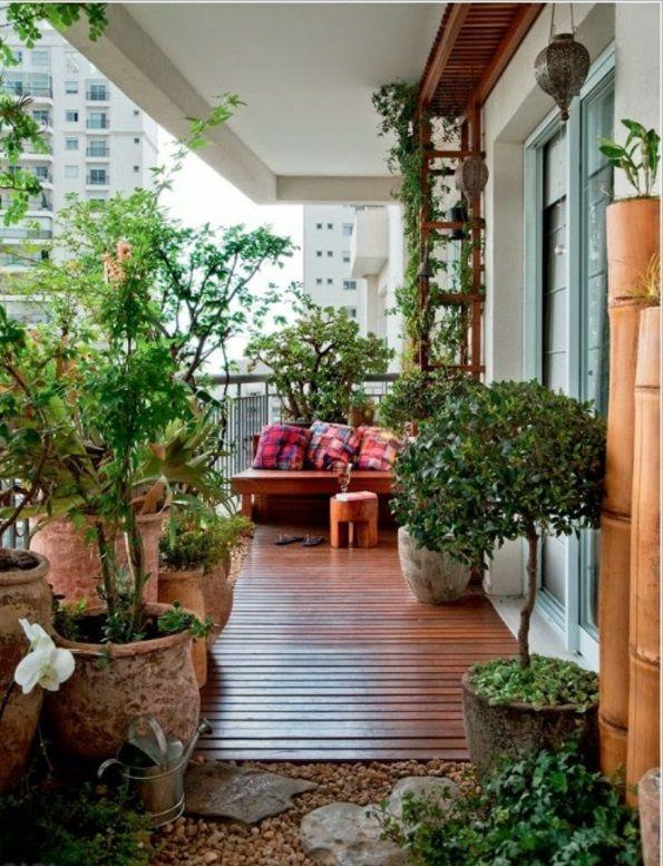 Frühlingsdeko basteln - den kleinen Balkon frisch gestalten ...
