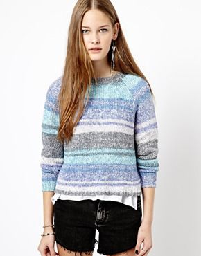 New Look Space Dye Ombre Jumper