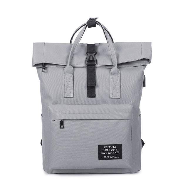 New 2017 Women Girls Backpack USB Charging Nylon Backpacks School Bags For Teenagers  Girl mochila feminina Students Satchel df69395c3b71d