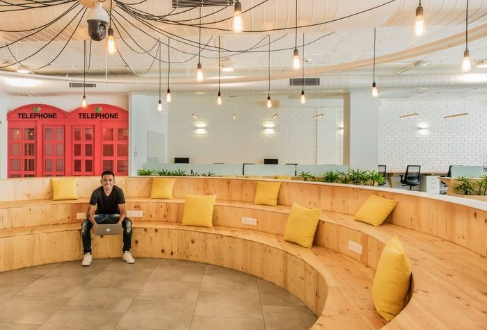 Superbe Bhumiputra Architecture Has Developed The New Offices Of Messaging App  Company Lookup Located In Bangalore, India.
