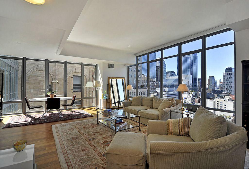 57 Reade Street Apt Phc Tribeca Manhattan New York As You Enter This 21st Floor 2 Br 2 5 B Condominium Design Modern Apartment New York City Apartment