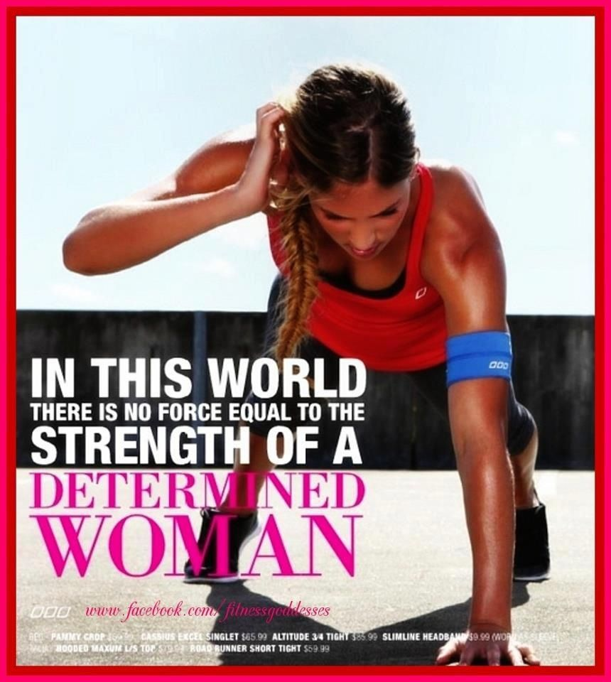 Determination Quotes by Women