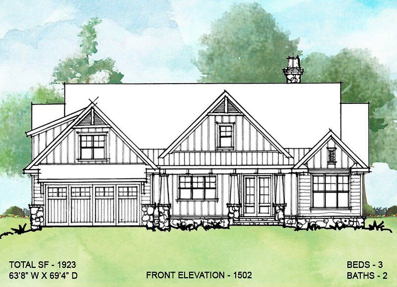 House Plan 1502 | Rustic house plans, House plans, House ...