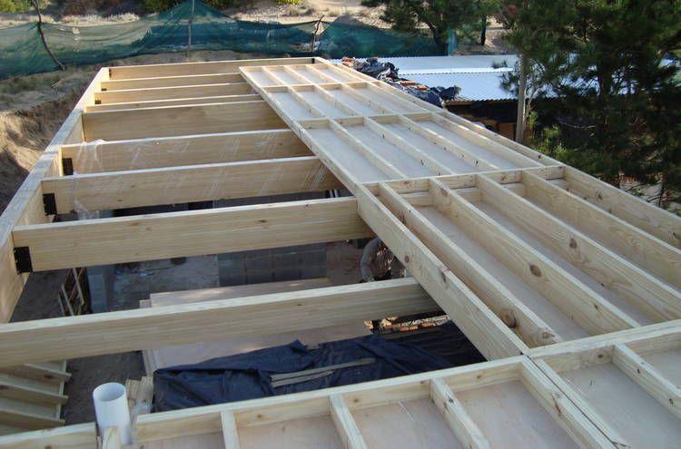 C mo dise ar entrepisos y techos en madera entrepisos for Materiales para hacer un piso