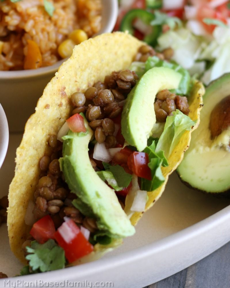 plant based diet tacos