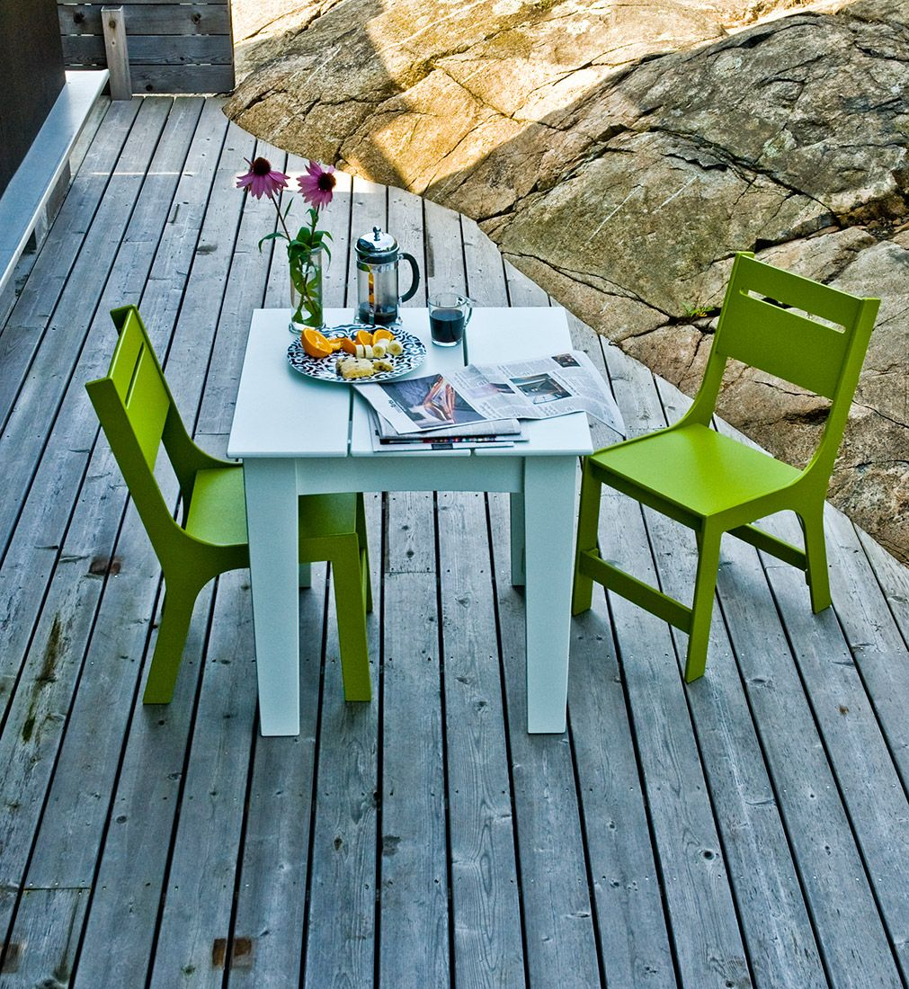 Modern Patio Dining Chair Made In The U.S.A. | Loll Designs